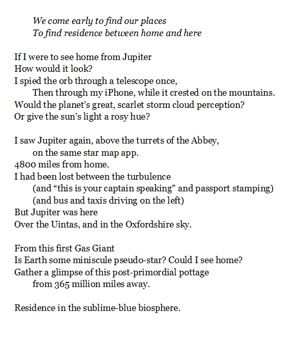 Residence from Jupiter